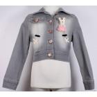 """Куртка """"Badi Junior"""" (серая) джинсовая"""