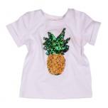 """Дизайнерская футболка """"Bear Richi"""" с ананасом"""