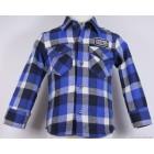 "Рубашка ""Benat Sport"" (синяя клетка) фланелевая"