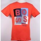 "Футболка ""BOSS"" (оранжевая)"