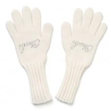 """Перчатки """"Chobi"""" (шерсть) белые, малиновые, синие"""