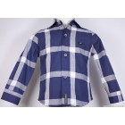"""Рубашка """"D&G"""" (синяя) в клетку"""