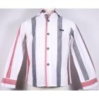 """Рубашка """"D&G"""" (белая) в полоску"""