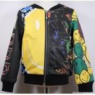 """Куртка """"DUBAOBAO"""" (желто-черная)"""