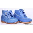 """Ботинки """"Kapika"""" (кожа) синие"""