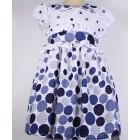 """Платье """"Kardigan"""" в синий горох"""