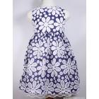 """Платье """"KEHZO"""" (синее) ромашка"""