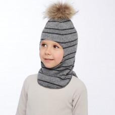 """Шлем """"Kotik"""" серый"""