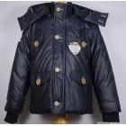"Куртка ""Puledro"" (темно-синяя) с рисунком"