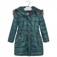 "Куртка ""Mayoral"" зеленая, бежевая"