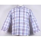 """Рубашка """"Mayoral"""" (голубая, зеленая клетка)"""