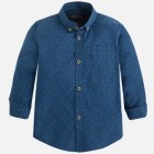"Рубашка ""Mayoral"" синяя"
