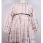 """Платье """"Monna Rosa"""" в розовую клетку"""