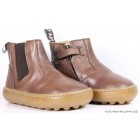 """Ботинки """"Pom d'Api"""" (кожа) коричневые"""