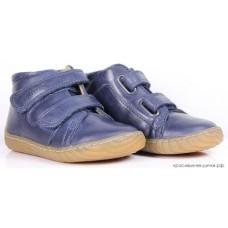 """Ботинки """"Pom d'Api"""" (кожа) синие"""
