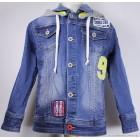 """Куртка """"Puledro"""" (синяя) джинсовая"""