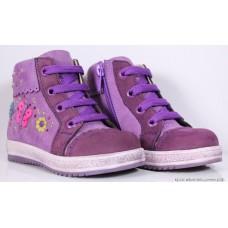 """Ботинки """"Tiflani"""" (розовые) кожа"""