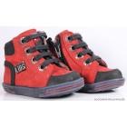 """Ботинки """"Tiflani"""" (красные) кожа"""