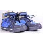 "Ботинки ""Tiflani"" (синие) кожа"