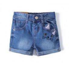 Джинсовые шорты Zara kids (кошки)