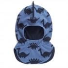 Шлем хлопковый с шипами динозавр (джинс) Chobi