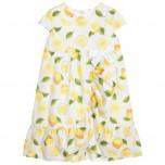 Платье Dr.Kid (лимоны)
