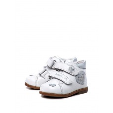 """Ботинки """"Kapika"""" (кожа) белые"""