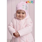 """Шлем """"Chobi"""" (хлопок на трикотажном подкладе) розовый"""