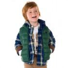 "Пуловер-рубашка с капюшоном на хлопковом подкладе ""Mayoral"""